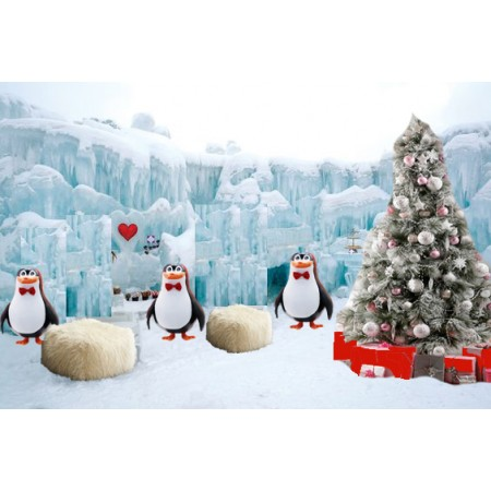 Фотозона  Пингвины
