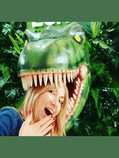 Голова динозавра
