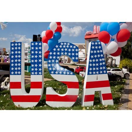 Буквы USA