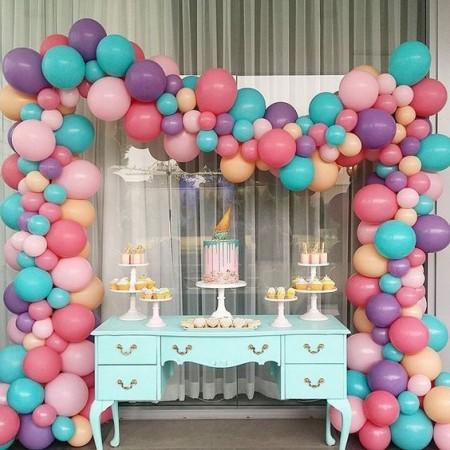 Candy Bar с воздушными шарами