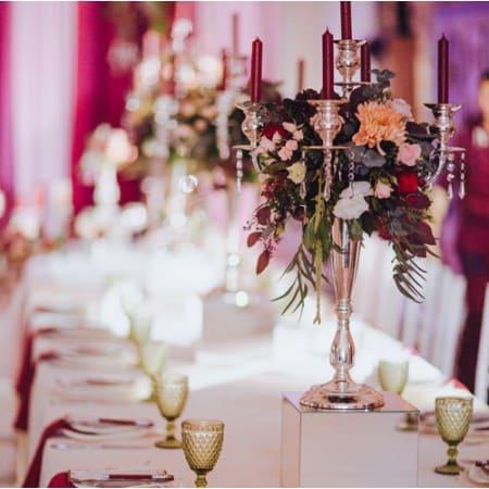 Оформление свадебного стола Стоимость оформления на 20 персон