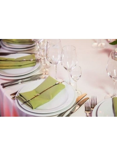 Салфетки оливкового цвета