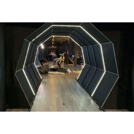 Тоннель с LED подсветкой