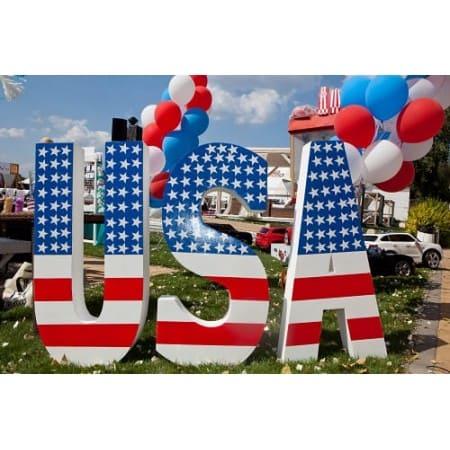 Буквы из пенопласта USA